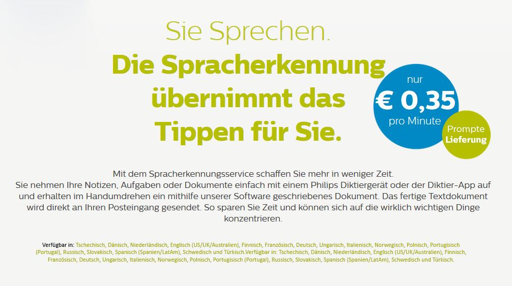 spracherkennungssoftware kostenlos deutsch